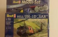 Plastový model vrtuľníka